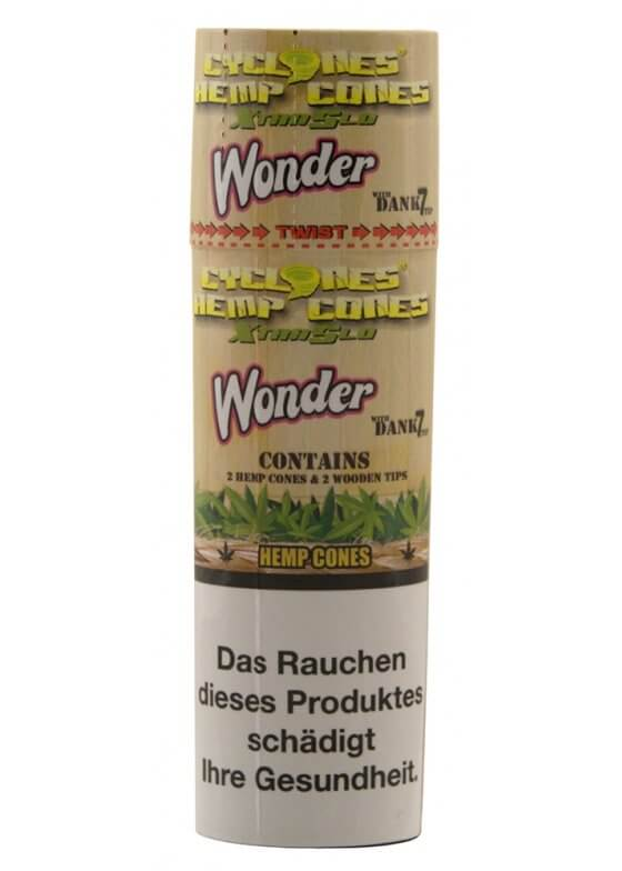 Cyclones Hemp Cones X-TRA Slow Wonder 2er Pack