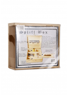 Joint-Spliff Box aus Holz