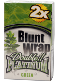 "Blunt Wrap Double Platinum ""Green"" 2er Pack"